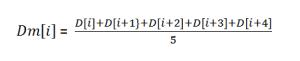 移動平均式2